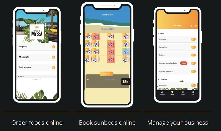 مايبي : تطبيق جديد لأصحاب الفنادق والمطاعم لإدارة مختلف حجوزات المسابح والشواطئ الخاصة