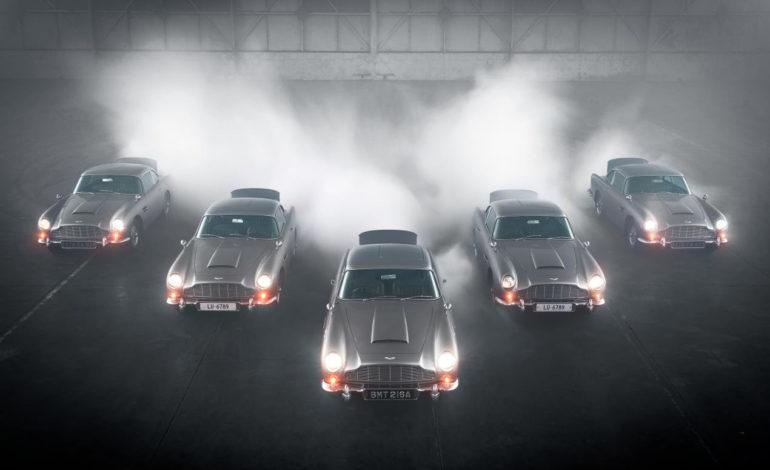 أستون مارتن تحتفل بنجاحها في إنتاج النسخة الجديدة من سيارات دي بي 5 جولدفينجرالمصنعة يدوياً