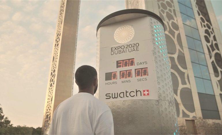 دقت ساعة الاستعداد لإكسبو 2020: سواتش تطلق ساعة العد التنازلي الرسمي