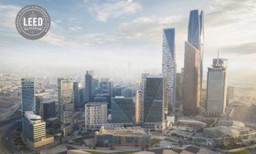 مركز الملك عبدالله المالي يحصل على أعلى تصنيف في الطاقة والتصميم البيئي على مستوى العالم