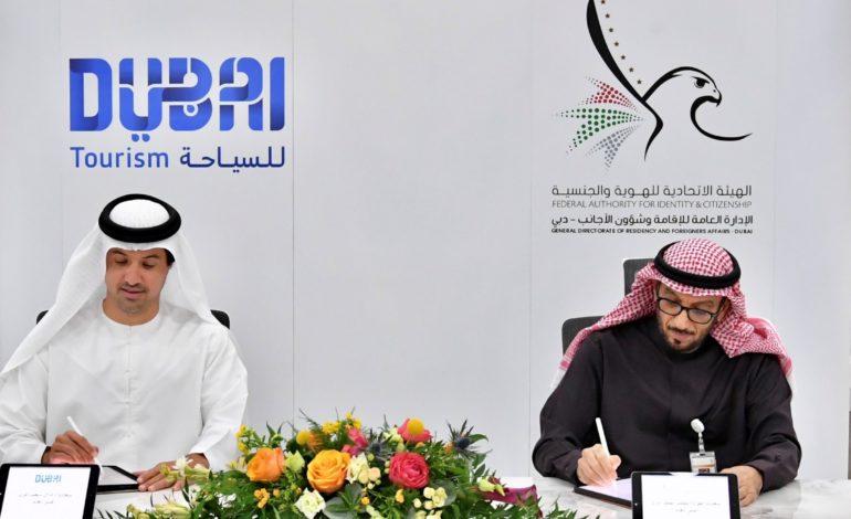 """الإدارة العامة للإقامة وشئون الأجانب بدبي توقع اتفاقية مع """"دبي  للسياحة"""" لتسهل إجراءات الإقامة لفئات محددة بما يعزز مكانة الإمارة كوجهة للزيارة والعيش"""