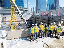 """""""داماك العقارية"""" تعلن الانتهاء من أعمال الأساسات لمشروع برج زادة في منطقة الخليج التجاري"""