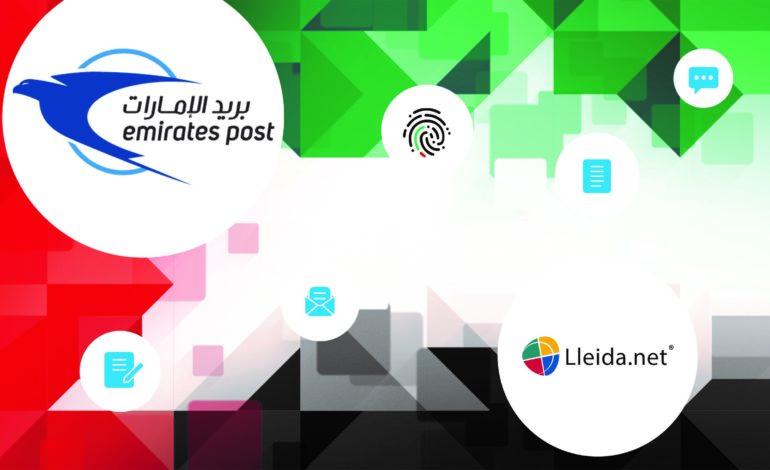 بريد الإمارات يُبسط عمليات خدمات التواصل الرقمي الموثق بالتعاون مع Lleida.net