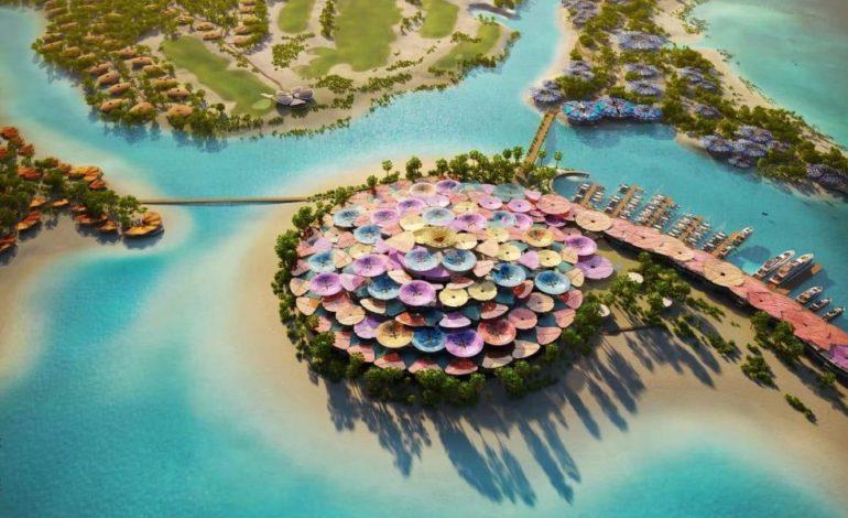 """محمد بن سلمان يُطلق الرؤية التصميمية """"كورال بلوم"""" للجزيرة الرئيسية بمشروع البحر الأحمر"""