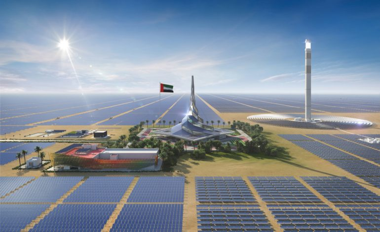 """""""رالي دبي الصحراوي"""" أول رالي يقام باستخدام الطاقة الشمسية المستدامة"""