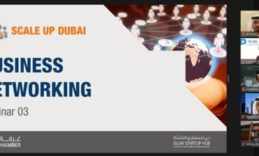 برنامج غرفة دبي لدعم الشركات الناشئة ذات النمو السريع يختتم تدريبياً متخصصاً لـ 16 شركة ناشئة