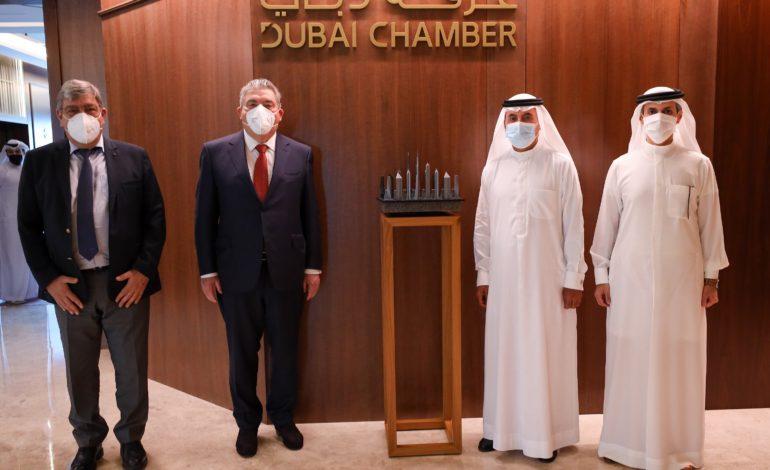 غرفة دبي تبحث تعزيز التعاون الاستثماري والشراكات الاقتصادية مع إمارة موناكو