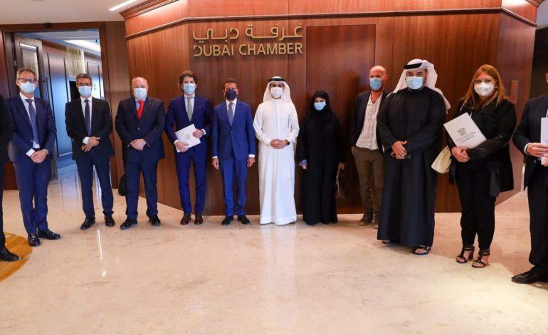 غرفة دبي تبحث استقطاب الإيطالية المتخصصة بحلول البيئة والاستدامة إلى الإمارة