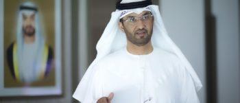سلطان الجابر: أدنوك حريصة على استكشاف آفاق سوق الهيدروجين مع القطاعين العام والخاص في الهند