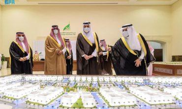 أمير المدينة المنورة يُدشِّن عدداً من المشاريع بمدينة المعرفة الاقتصادية ويرعى توقيع عدد من الاتفاقيات