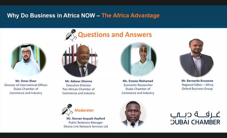 غرفة دبي تعرف المستثمرين بفرص التوسع والشراكات الاقتصادية في القارة الأفريقية