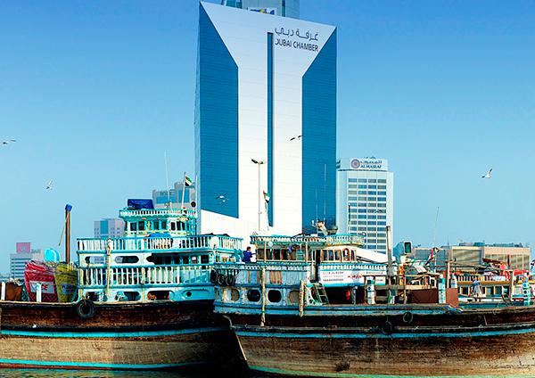 6.5 % نموا في قيمة صادرات و إعادة صادرات أعضاء غرفة دبي خلال الربع الأول