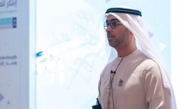 صقر الحميري متحدثاً عن جهود وزارة الصحة ووقاية المجتمع في الإمارات في غرس ثقافة الابتكار