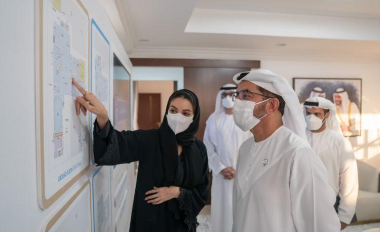 حمدان بن زايد يدشن مشروع المغيرة السكني في مدينة المرفأ