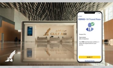 طيران الخليج تبدأ تجربة جواز (أياتا) للسفر الصحي على رحلات لندن وأثينا وسنغافورة