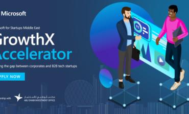 """شراكة استراتيجية مع """"مكتب أبوظبي للاستثمار"""" تتيح للشركات الناشئة برنامج مايكروسوفت «GrowthX Accelerator»"""