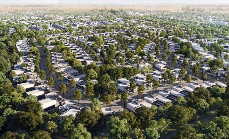 أرادَ ترسي أول العقود الإنشائية في مَسار؛ المجتمع السكني الفاخر كثيف الأشجار في الشارقة