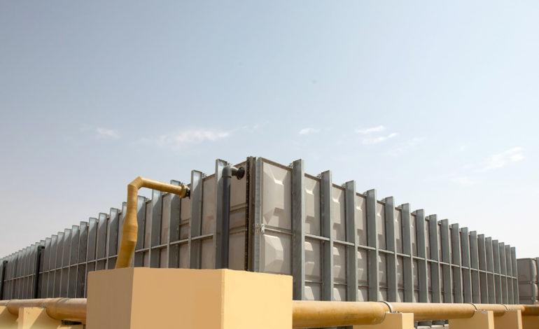 """""""ديوا"""" تنتهي من تنفيذ محطة ضخ المياه في مجمع محمد بن راشد للطاقة الشمسية"""