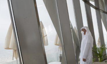 محمد بن زايد يطلع على مرافق استراحة السحب أحدث المشاريع السياحية في خورفكان
