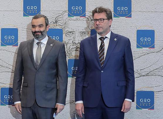 السواحة يبرز ريادة المملكة وقيادتها لعدد من الملفات الدولية أمام قادة الاقتصاد الرقمي لمجموعة العشرين