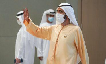 محمد بن راشد يدشن المشروع الأول من المرحلة الخامسة في مجمع محمد بن راشد آل مكتوم للطاقة