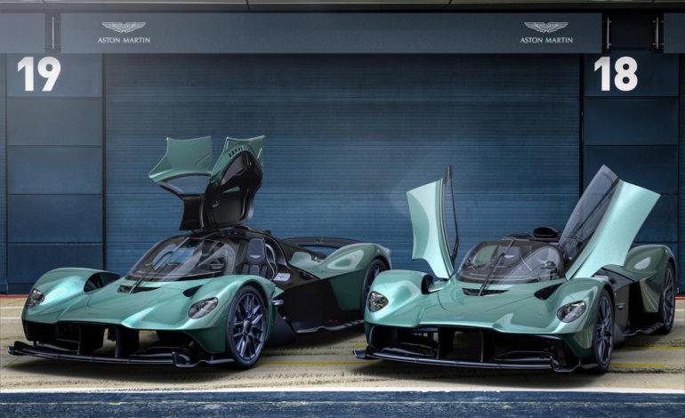 أستون مارتن تكشف عن سيارة فالكيري سبايدر التي تحاكي أداء سيارات الفورمولا 1