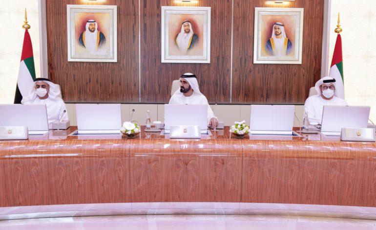 محمد بن راشد يعتمد العمل بمبادئ الخمسين ويوجه كافة الجهات في دولة الإمارات الاستناد على خططها وتوجهاتها واستراتيجياتها القادمة