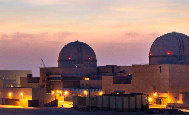 ربط ثاني محطات براكة بشبكة الكهرباء الرئيسية في الإمارات