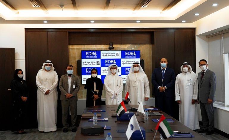 """منطقة عجمان الحرة"""" توقع مذكرة تفاهم مع مصرف الإمارات للتنمية لدعم ريادة الأعمال """""""