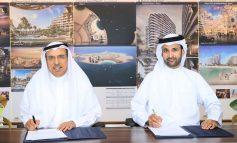 """دبي للاستثمار توقع اتفاقية مع """"مرجان"""" لافتتاح منتجع وسكن شاطئي بقيمة مليار درهم على جزيرة المرجان في رأس الخيمة"""