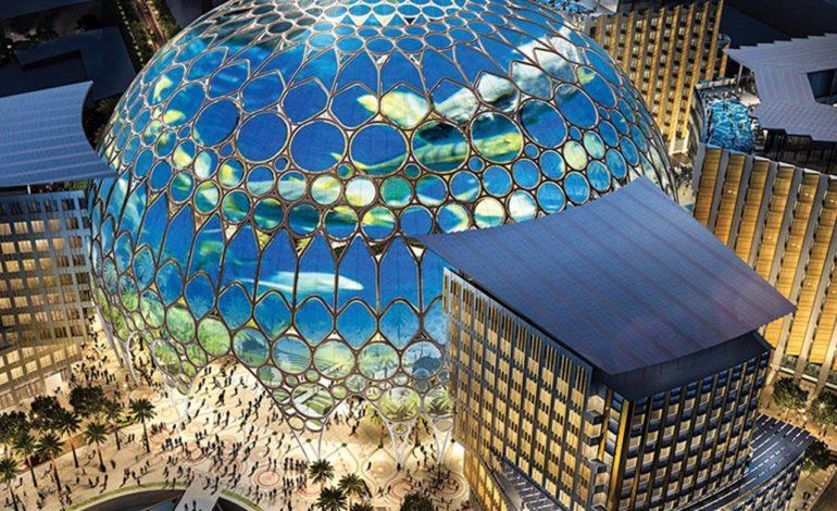 قبةُ الوصل.. معلم حضاريّ ينبض بالإبداع المستدام في قلب إكسبو 2020 دبي