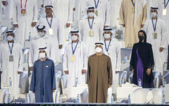 """محمد بن راشد ومحمد بن زايد يشهدان افتتاح """"إكسبو 2020 دبي"""" إيذاناً بانطلاق أعمال دورته التاريخية"""