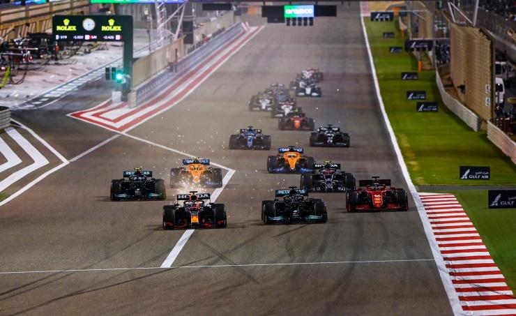 إنطلاقة موسم 2022 للفورمولا وان من حلبة البحرين الدولية