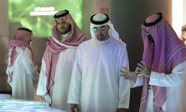 """محمد بن زايد يزور جناح السعودية المشارك في """"إكسبو 2020 دبي"""""""