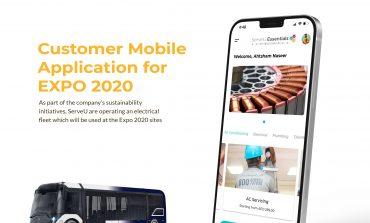 """""""سرفيو"""" تطلق تطبيقاً للهاتف المحمول واسطولاً كهربائياً لعمليات إدارة المرافق الخاصة بها في """"إكسبو 2020"""""""