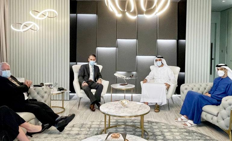 """"""" الاقتصاد"""" و"""" UPS """" العالمية تبحثان تعزيز تنافسية الإمارات كمركز رائد للخدمات اللوجستية وسلاسل الإمداد"""